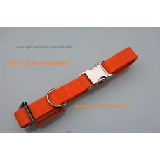 Hundehalsband Vario orange